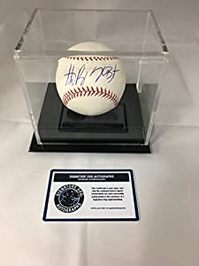 Kris Bryant & Anthony RIzzo Dual Autographed Signed Chicago Cubs MLB Baseball With Display Case Included COA & Hologram