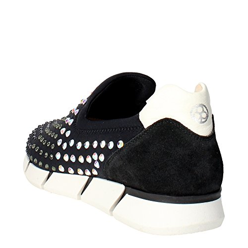 Florens F1330 Slip-on Shoes Women Black 8WEjwploj