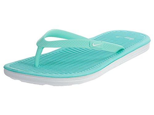 Nike Wmns Solarsoft Thong 2, Chanclas para Mujer Turquesa (Hyper Turq / White)