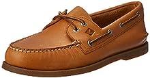 Sperry Men's A/O 2 Eye Boat Shoe,Sahara,11 M US