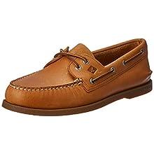 Sperry Men's A/O 2-Eye Boat Shoe,Sahara,15 M US