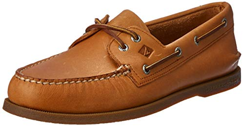 Sperry Men's A/O 2 Eye Boat Shoe,Sahara,10 M US (Shoes Boat Leather)