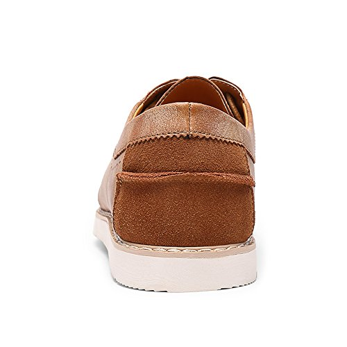 Brown up 2 Lace Uomo Zanpa dark Scarpe Casual qwRTU64