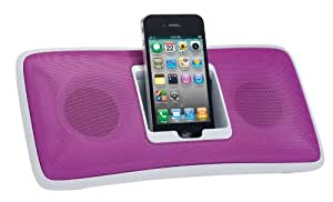 Logitech S315I PINK - Altavoz con puerto dock para Apple iPhone/iPod (6 W, 2.0, 3.5 mm), rosa