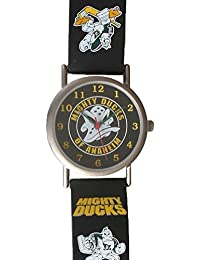 "Mighty Ducks Collectible Retro ""Wild Wing"" Theme Watch with Decorated ""Wild Wing"" Rubber Strap"