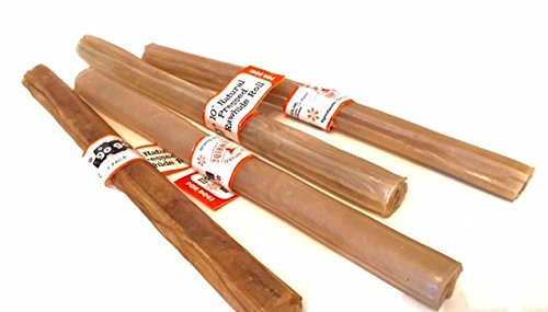Natural Pressed Rawhide Sticks Compressed product image