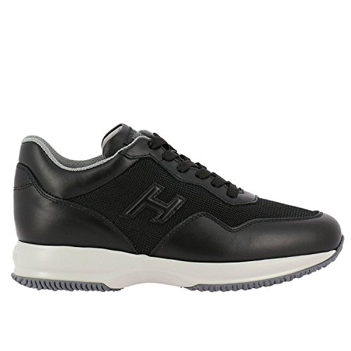 Hogan Sneakers Uomo HXM00N0U040I9JB999 Pelle Nero