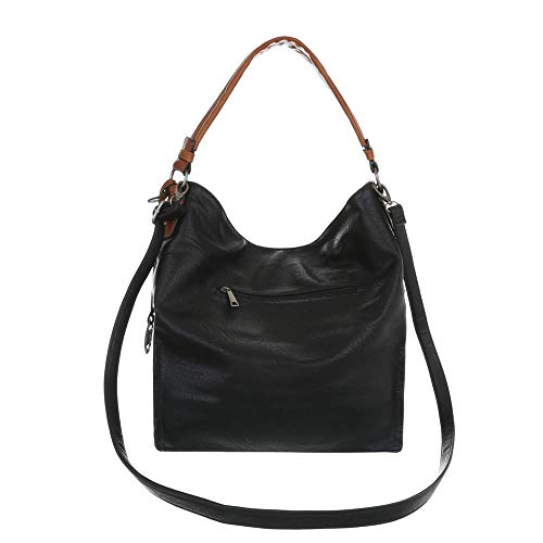Porter À Femme L'épaule Ital Noir Sac Pour design qwXFXgI1