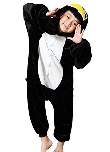 Baby Penguin Costume Uk (Adult Children Halloween Cosplay Animal Onesie Pajamas Penguin XL (125-135CM))