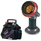 """Mr. Heater Compact """"Little Buddy"""" Radiant Propane Heater with Portable Buddy Carry Bag"""