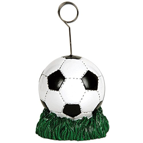 Beistle 50844 Soccer Ball Photo/Balloon Holder, 6 Ounces