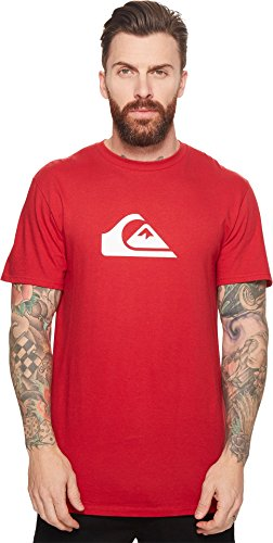 Quiksilver Men's MW Classic Tee Shirt, Chili Pepper, Large (Apparel Young Mens)