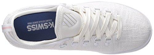 88 Fashion Sport Women's Sneaker Classic White Crystal White Swiss T K Pink AxWtSqBx