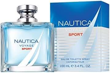 NAUTICA Voyage Sport Eau de Toilette Spray, 3.4 Fluid Ounce