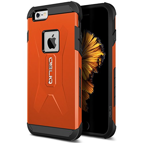 iPhone 6S Case, Obliq [Xtreme Pro][Orange] Heavy Duty Sturdy Bumper Soft PC TPU Shock Scratch Resist Protective Thin Slim Fit Armor Cover for Apple iPhone 6S (2015) & iPhone 6 (2014)