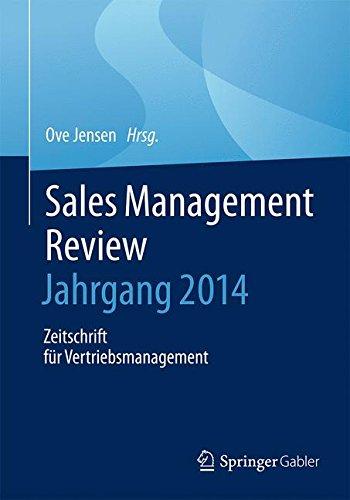 Sales Management Review – Jahrgang 2014: Zeitschrift für Vertriebsmanagement (German Edition) pdf epub