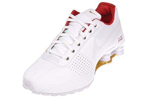 Dor Femme Red Offrent metallic Nike Blanc university Des Wmns Shox white vdxPqg