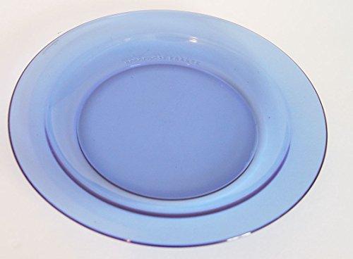 Vintage Arcoroc France Cobalt Blue Salad Plate