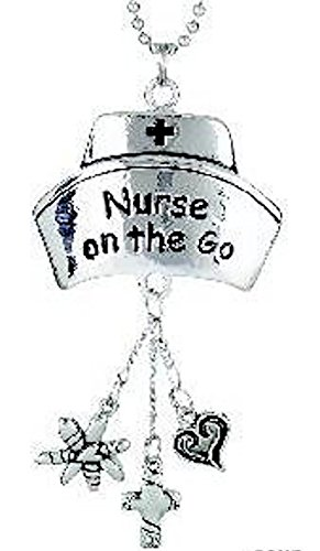 Nurses on the go Silver Ornament