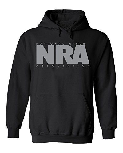 NRA Traditional Solid Logo Pullover Hoodie - Officially Licensed