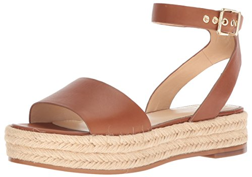 Vince Camuto Women's Kathalia Espadrille Wedge Sandal, Summer Cognac, 7.5 Medium US by Vince Camuto