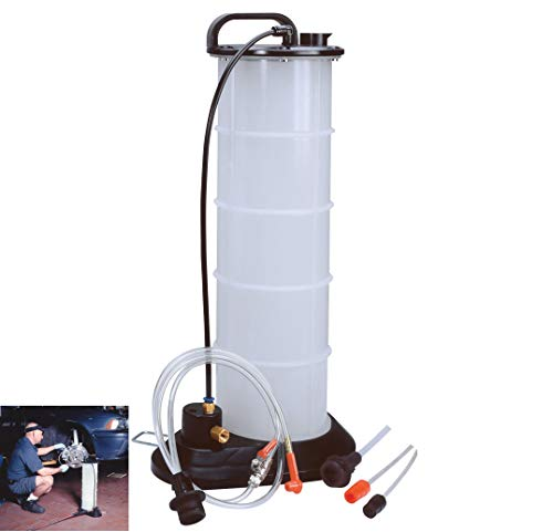 2.3Gal Pneumati Vacuum, 0.25'' NPT Air Operated Fluid Extractor Evacuator w/Brake&Clutch Quick Delivery