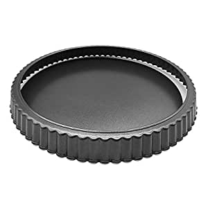 Quite Deep tart pan with removable bottom