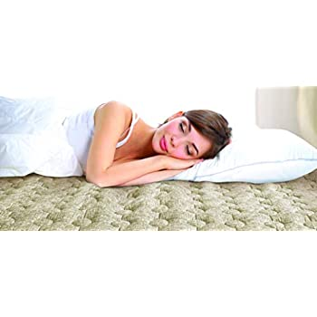 Parklon Onsu Mat - Water Heated Mattress Pad (Washable, Queen Size, 110V)