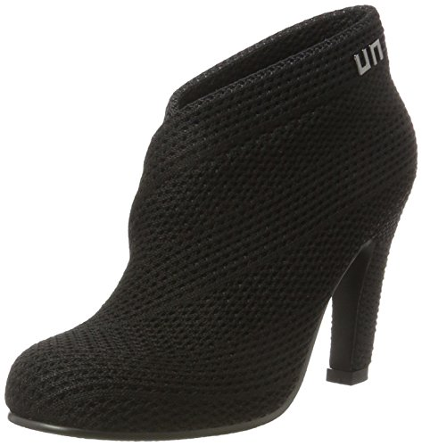United Nude Fold Hi, Women's Bootees Black