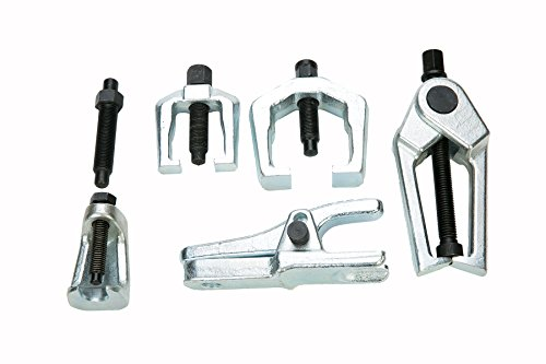 8milelake 6pc Front End Service Tool Kit Ball Joint Separator Pitman Arm Tie Rod Puller by 8MILELAKE (Image #1)