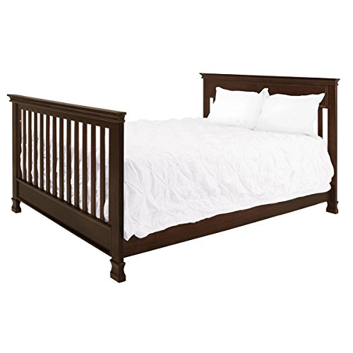 Full Size Conversion Kit Bed Rails for Million Dollar Baby Ashbury, Foothill & Louis Cribs - Espresso by Grow-with-Me Crib Conversion Kits (Image #4)