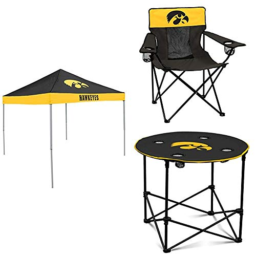Iowa Tent, Table and Chair Package