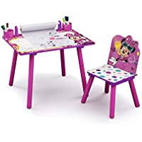Disney Minnie Mouse Kids Activity Desk with Paper Roll
