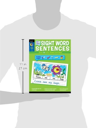 Cut & Paste Sight Words Sentences (CTP 7180): Rozanne Lanczak ...