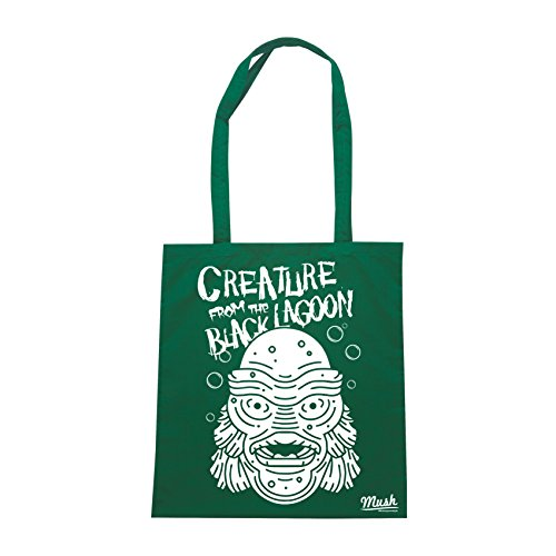 Borsa CREATURE FROM BLACK LAGOON HORROR FANTASY - Verde Bottiglia - FILM by Mush Dress Your Style