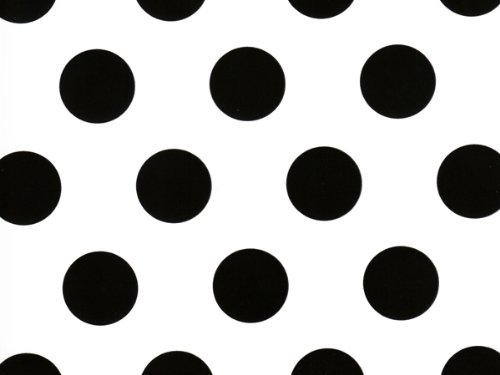 Pack Of 1, Domino Alley Dots 24'' X 417 Roll Classic Designs Gift Wrap For 175 -200 Gifts Made In USA by Generic