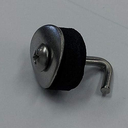 ステンレス トラスフック 25mm 100個入り 『カーポート・テラスの屋根の修理、雨漏りなどのメンテナンスやリフォームをDIYで』