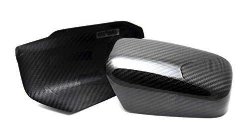 Dry Carbon Fiber Door Side Mirror Covers for 2003-2007 Mitsubishi Lancer EVO 7 8 9