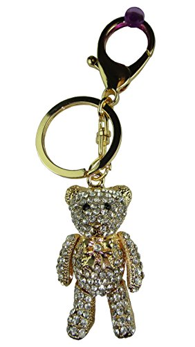 Price comparison product image Crystal Keychain Teddy Bear