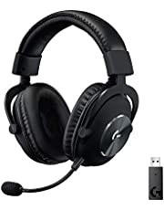 Logitech G PRO Gaming Headset 2nd Generation Comfortable and Durable with PRO-G 50 mm Audio Drivers