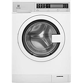 Electrolux EIFLS20QSW 24' Compact Front Load Washer with 2.4 cu. ft. Capacity Jet Wash System 6 Wash Cycles 5 Temperature Settings 5 Soil Levels Touch Control Panel and Pull-to-Open Door Type in