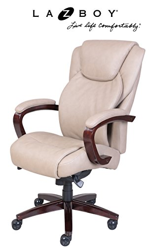 La Z Boy Hyland Executive Bonded Leather Office Chair (Elegant Office Chairs)