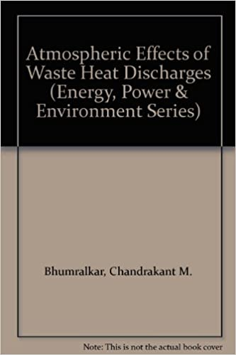 Atmospheric Effects of Waste Heat Discharges