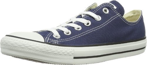Converse Unisex Chuck Taylor All Star Ox Low Top Navy Sneakers - 4 Men 6 Women