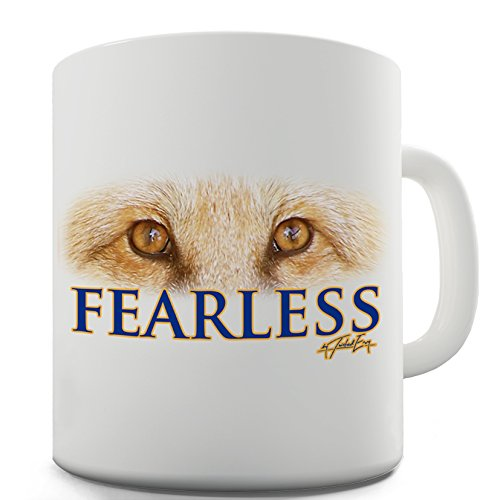 Twisted Envy Leicester Fearless Foxes Funny Mugs For Women 15 OZ