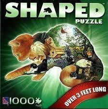 Cat Shaped Puzzle