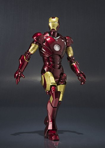 Bandai S.H.Figuarts Iron Man Mark 3 Action Figure, 6.1-Inch