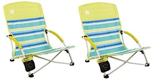 Coleman Utopia Breeze Beach Sling Chair (2-Chairs)