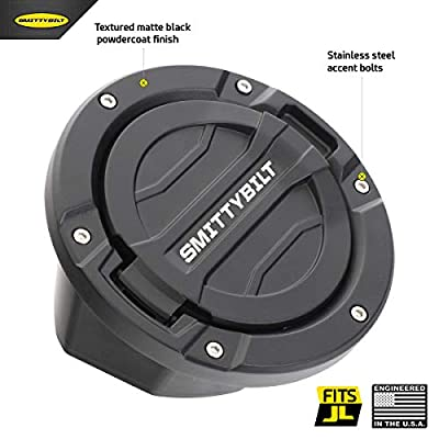 Smittybilt 75008 Billet Gas Cover for Jeep JL Wrangler: Automotive