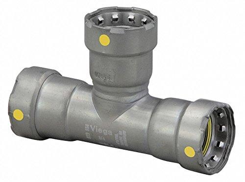 2 x 2 x 2 Tube Size Carbon Steel Tee Press x Press x Press Connection Type